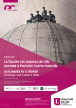 La faculté des sciences de Lille pendant la Première guerre mondiale